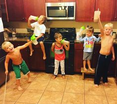 """Well I'm not the only one from Trisha: We take """"shake time"""" seriously around here!  hahaha  Love that we are in and out of the kitchen in less than 5 minutes!  Happy Boy, Happy Bellies, Happy Momma!  Can you imagine when all of these boys are on Isalean Pro shakes and the Amped line!?!?!  Danny and I need to Max out our business center STAT!"""