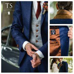 Fantastische herfstcombi voor een bruidegom. Blazer, Jackets, Men, Style, Fashion, Down Jackets, Swag, Moda, Fashion Styles
