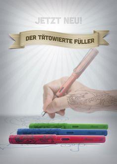 LAMY Safari- Der tätowierte Füller - Schreibkultur & Papeterie