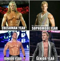 Funny Wrestling, Wrestling Quotes, Wwe Funny, Watch Wrestling, Chris Jericho, Wwe Tna, Aj Styles, Professional Wrestling, Yesterday And Today