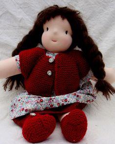 Le gilet poupée sans coutures