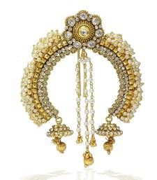 925f14274c Buy Pearl & Stone Design Indian Wedding Designer Hair Pin (Ambada) hair -accessory