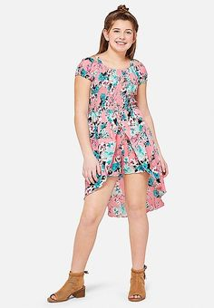 Off Shoulder Maxi Skirted Romper Girls Plus Size Dresses, Plus Size Outfits, Girls Dresses, Maxis, Romper With Skirt, Tween Girls, Baby Dress, Cute Outfits, Shop Justice