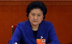 China appoints a woman to one of highest positions - Telegraph  www.telegraph.co.uk - 620 × 387 - More sizes  Visit page  View original image  More info