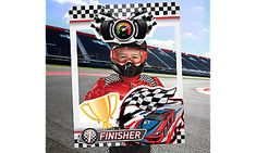 This Giant Car Racing Photo Booth Frame features a racing theme design with a Finisher' headline and a cutout in the middle. Use this sports photo prop during their racing party or NASCAR party! Nascar Party, Race Party, Photo Booth Frame, Get The Party Started, Party Stores, Sports Photos, Lamborghini Aventador, Car Detailing, Fast Cars