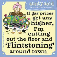AUNTY ACID ON GAS
