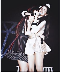 Aw Lauren and Camila hugging :)