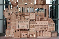 Amazing cardboard castle