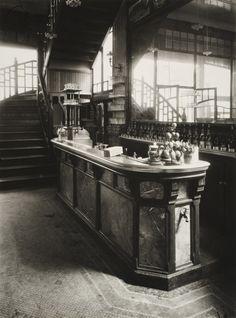 Eugène Atget  'The Wine Seller, 15 Rue Boyer' Paris  1910–1911  Gelatin-silver print (printed by Berenice Abbott)  Gift of Walter P. Chrysler, Jr., Chrysler Museum of Art, Norfolk, VA.