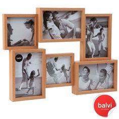 Jumble+6+Multi+Aperture+Frame+-+Beech