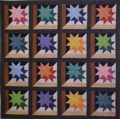 Shadow Star quilt pattern | Karen Combs
