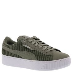 a17d2da766a Shop Women s Puma Green White size Various Platforms at a discounted price  at Poshmark. Description  PUMA Vikky Platform EP Rock ridge Color kaki  white New ...