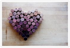 Heart from #wine #corks