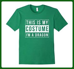Mens I'm a Dragon Costume Halloween Shirt Funny Women Men Kids XL Kelly Green - Animal shirts (*Amazon Partner-Link)