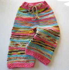 Knit baby pant