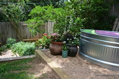 Turn a Stock Tank into a Thrifter's Summer Pool