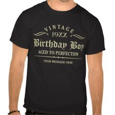Personalize Funny Birthday Tee Shirts #Personalized #tshirt