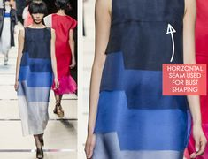 Cool ombre dress - Vivid Textiles at Fendi | The Cutting Class
