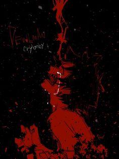 Red Aesthetic Grunge, Aesthetic Art, Aesthetic Anime, Devilman Crybaby, Cartoon Kunst, Vent Art, Arte Obscura, Sad Art, Creepy Art