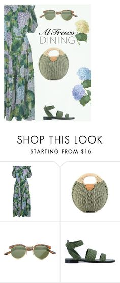 """""""Alfresco Dining"""" by stavrolga on Polyvore featuring Dolce&Gabbana, SW Global and Paul Andrew"""