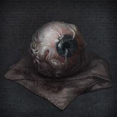 In-game Art - Consumables Cthulhu, Bloodborne Art, Old Blood, Soft Eyes, Arte Cyberpunk, Dark Skies, Dark Fantasy, Game Art, Old Things