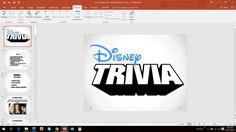 Disney Trivia- GAME 2 PowerPoint (Customizable Pub-Style Trivia) by BeardedTrivia on Etsy https://www.etsy.com/listing/475033143/disney-trivia-game-2-powerpoint