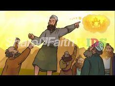 Joshua and the Jordan River Joshua 3-4 Sunday School Lesson Resource - YouTube