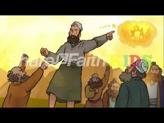 Joshua and the Jordan River Joshua 3-4 Sunday School Lesson Resource - YouTube