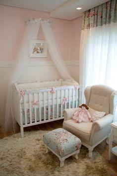 Quarto de Bebê Lorena - Linha Provençal - Projeto: Tulipa Baby