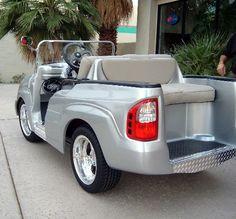 Cadillac Escalade Cart Photos - Custom Golf Carts, Custom Carts, Carts