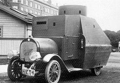 Armored car, WWI.