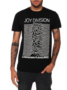 Joy Division Unknown Pleasures Tee I found at http://www.hottopic.com/