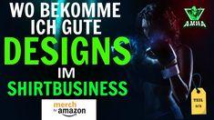 Wo bekomme ich gute DESIGNS im Shirtbusiness 2 - Amazon Merch Deutschlan... T Shirt Designs, Print On Demand, Amazon Merch, Ecards, Memes, Earning Money, Tips And Tricks, Electronic Cards, Jokes