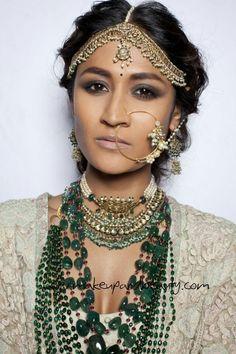 153 best Wedding Tikka Headpiece images on Pinterest | Fascinators ...