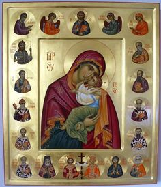 Church Icon, Church Interior, Byzantine Icons, Orthodox Christianity, Beautiful Waterfalls, Orthodox Icons, Religious Art, Our Lady, Holy Spirit