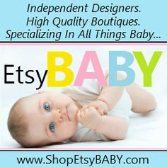 My EtsyBABY shop interview feature, May 2012