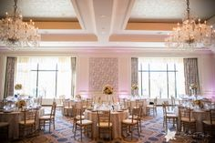 Gorgeous setting in our #Boston ballroom.