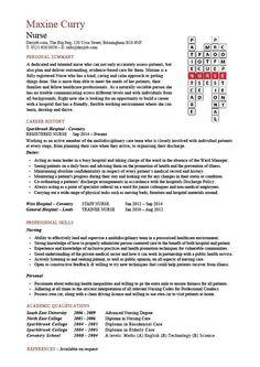 medical resume free cv samples