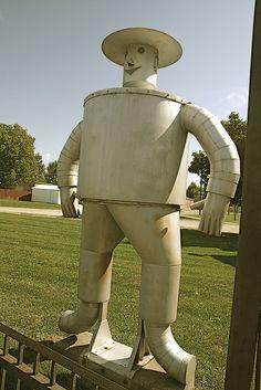 The Tin Man-Muncie Indiana