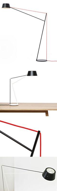 Lighting Design // Spar Light by Jamie McLellan for Resident // modern table light / minimal desk light