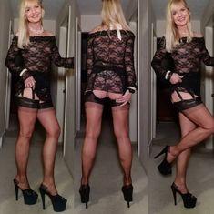 Styling in my copper color with RHT stockings from @secretsinlace with added bonus of 7 inch heel pleaser mules! #stockinglegs #vintagestockings #pantyhose #nylons #highheelmules #highheels #heelsaddict #tights #collants #lingeriemodel #lingerieaddict #nylontoes #nylonfeet #secretsinlace #greatlegs #longlegs #sexylegs #legsintights #calze #calzedonia #hothighheelslingerie