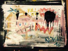 Killer #contemporaryart #contemporary #art #artist #conceptart #artgallery #drawing #painting #draw #paint #collage #mixedmedia #mixedmediaart #magick #mystery #symbols #symbolism #runes Runes, Mixed Media Art, Magick, Concept Art, Contemporary Art, Mystery, Moose Art, Art Gallery, Collage