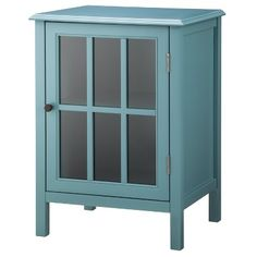 Windham One Door Accent Cabinet - Threshold™ - Teal
