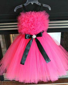 Hot Pink Flower Girl Dress- but in light pink