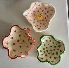 Ceramic Clay, Ceramic Pottery, Pottery Art, Clay Art Projects, Clay Crafts, Keramik Design, Cute Clay, Clay Design, Dry Clay