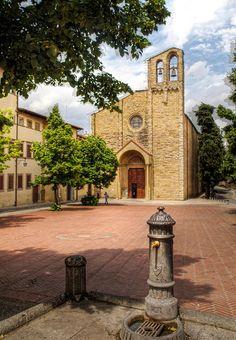 The church of San Domenico, Arezzo