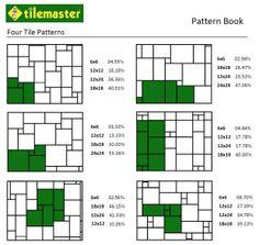 Four Tile Patterns