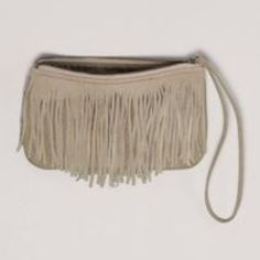 AEO fringe wristlet Super cute for fall! Brand new! American Eagle Outfitters Bags Clutches & Wristlets