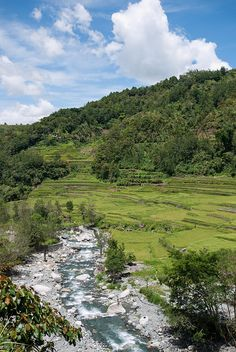 The Hapao River - Hungduan, Philippines