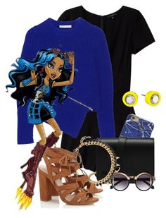 """""""Rebecca Steam"""" by fashionimagination ❤ liked on Polyvore featuring Talula, Alexander Wang, Mulberry, Joomi Lim, Lipsy, Marc by Marc Jacobs and H&M"""